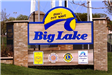 Big Lake Sign