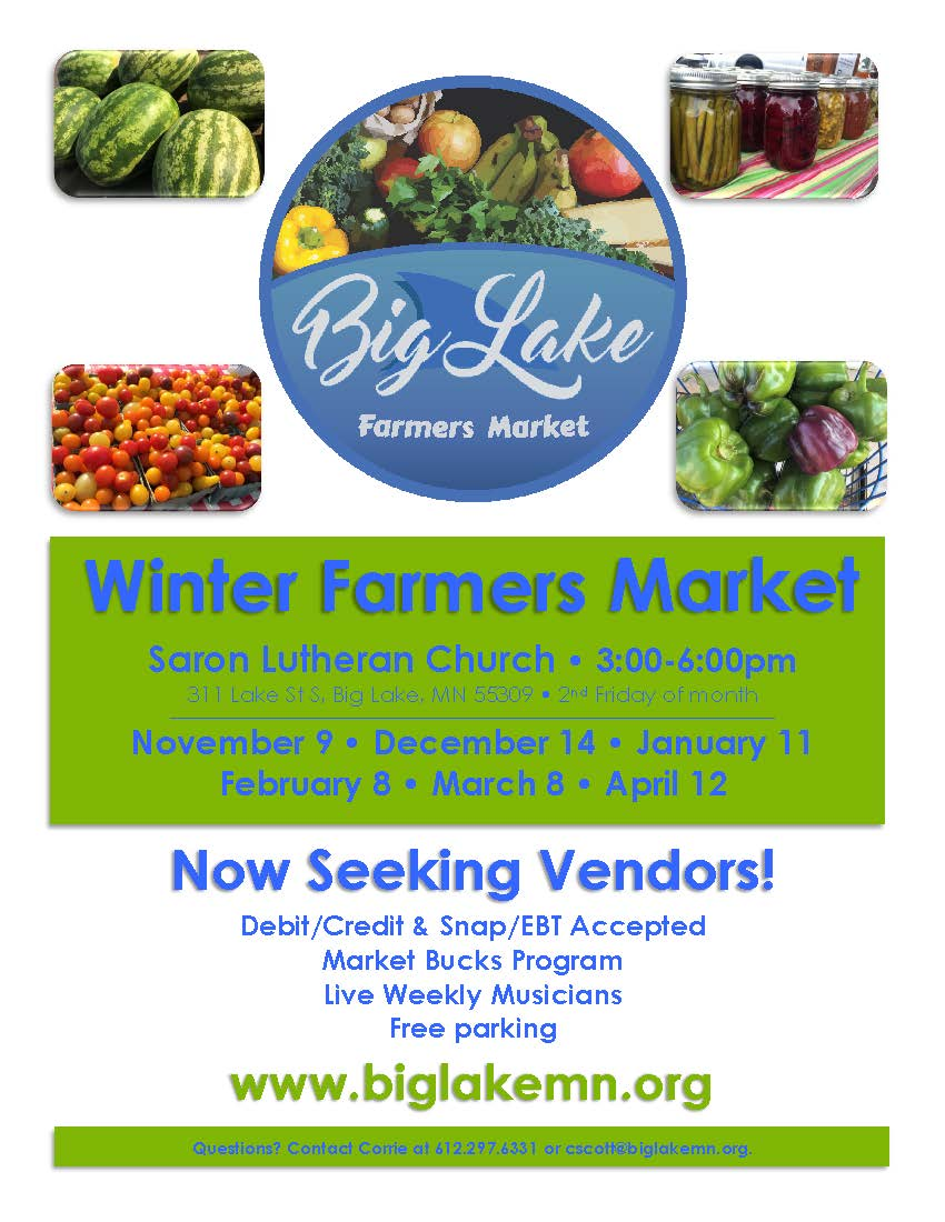 Farmers Market Flyer - winter