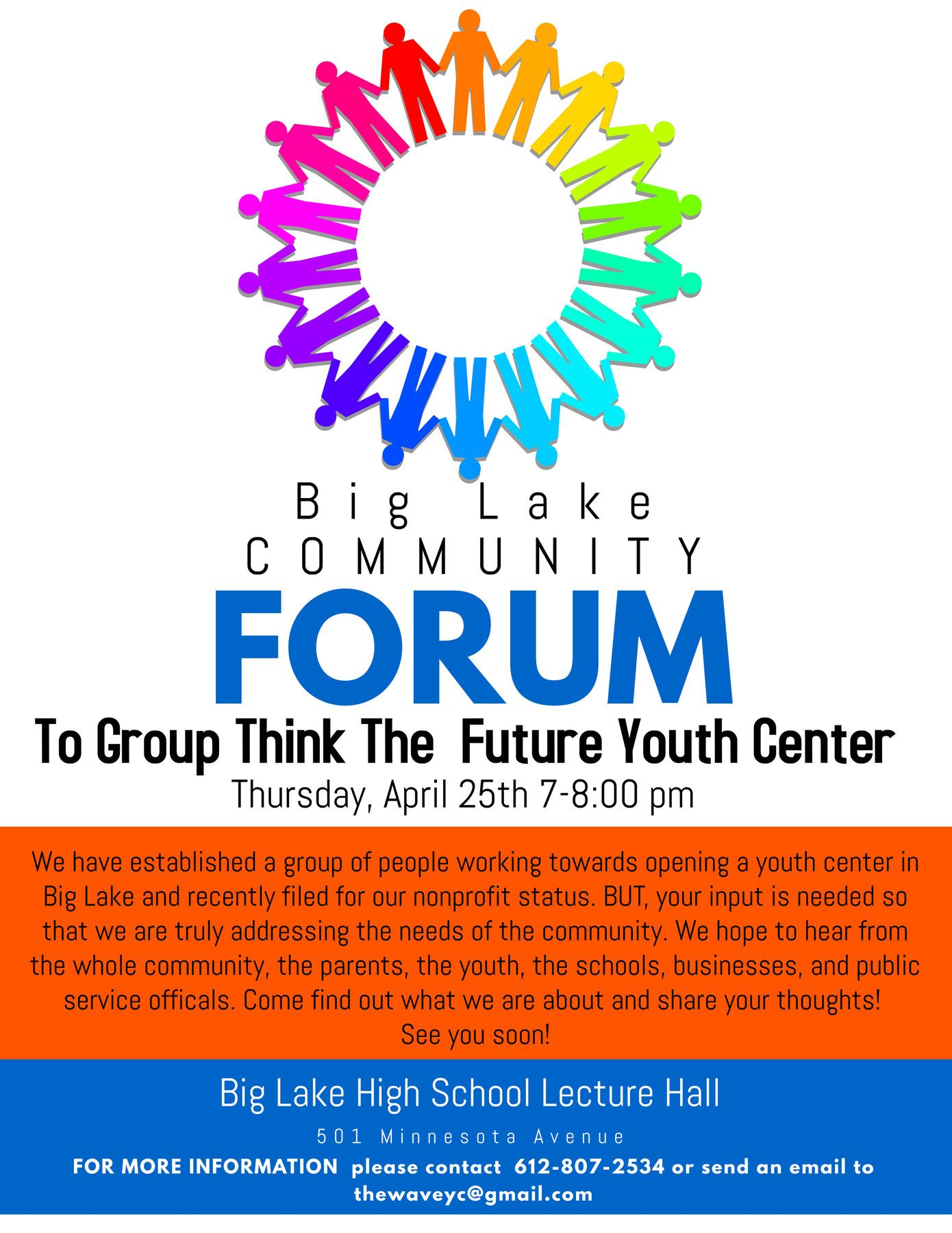 The Wave Youth Center Community Forum