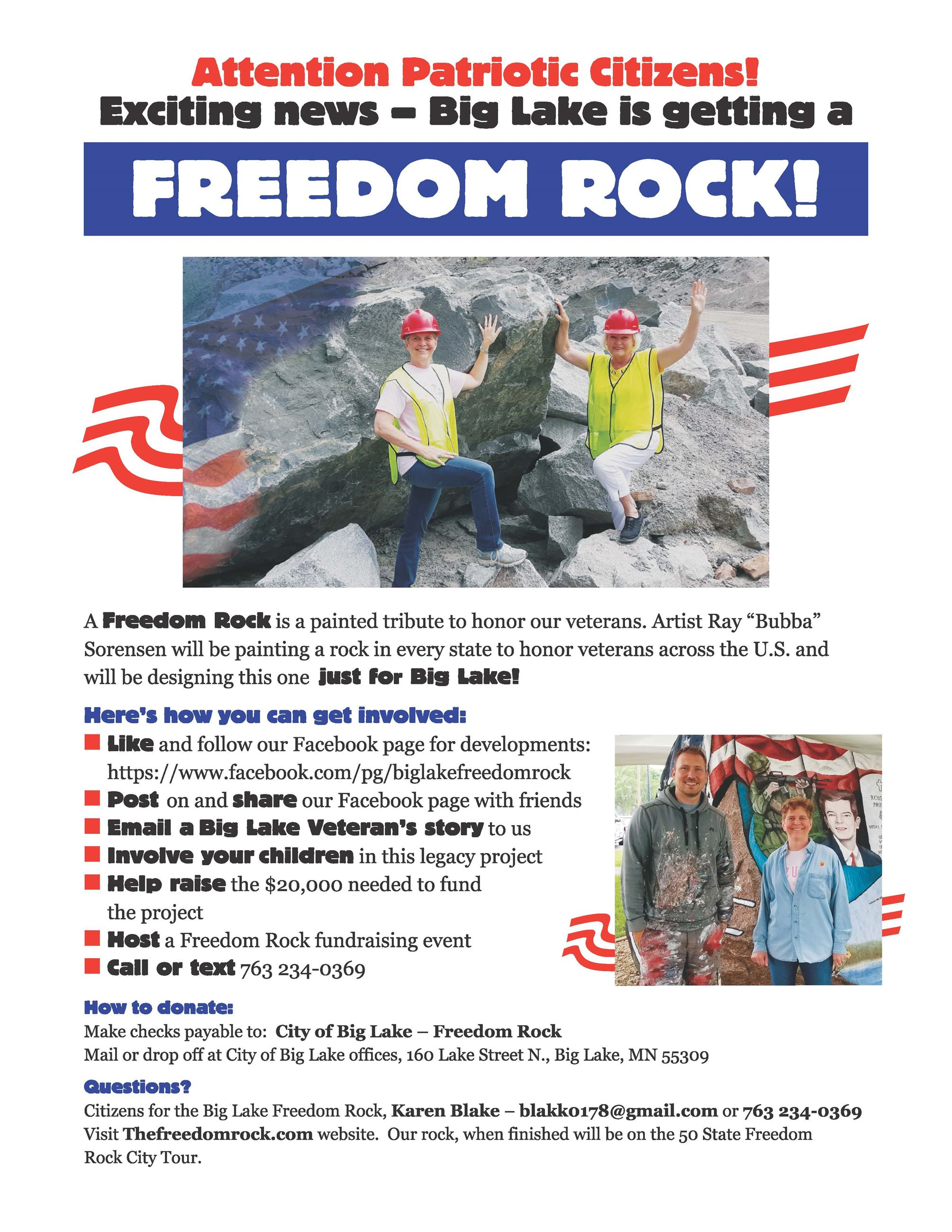 Freedom Rock with Links