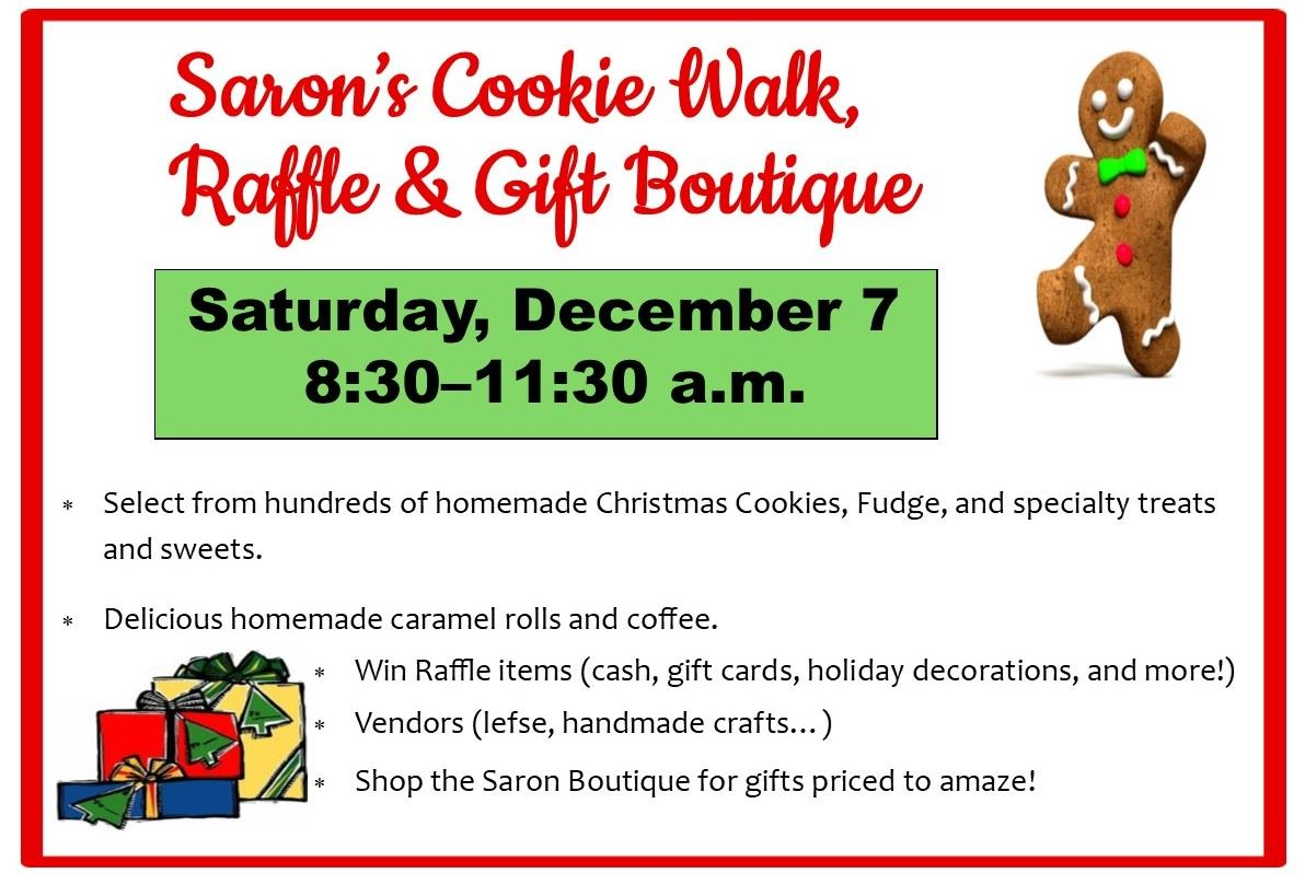 Saron Cookie Walk
