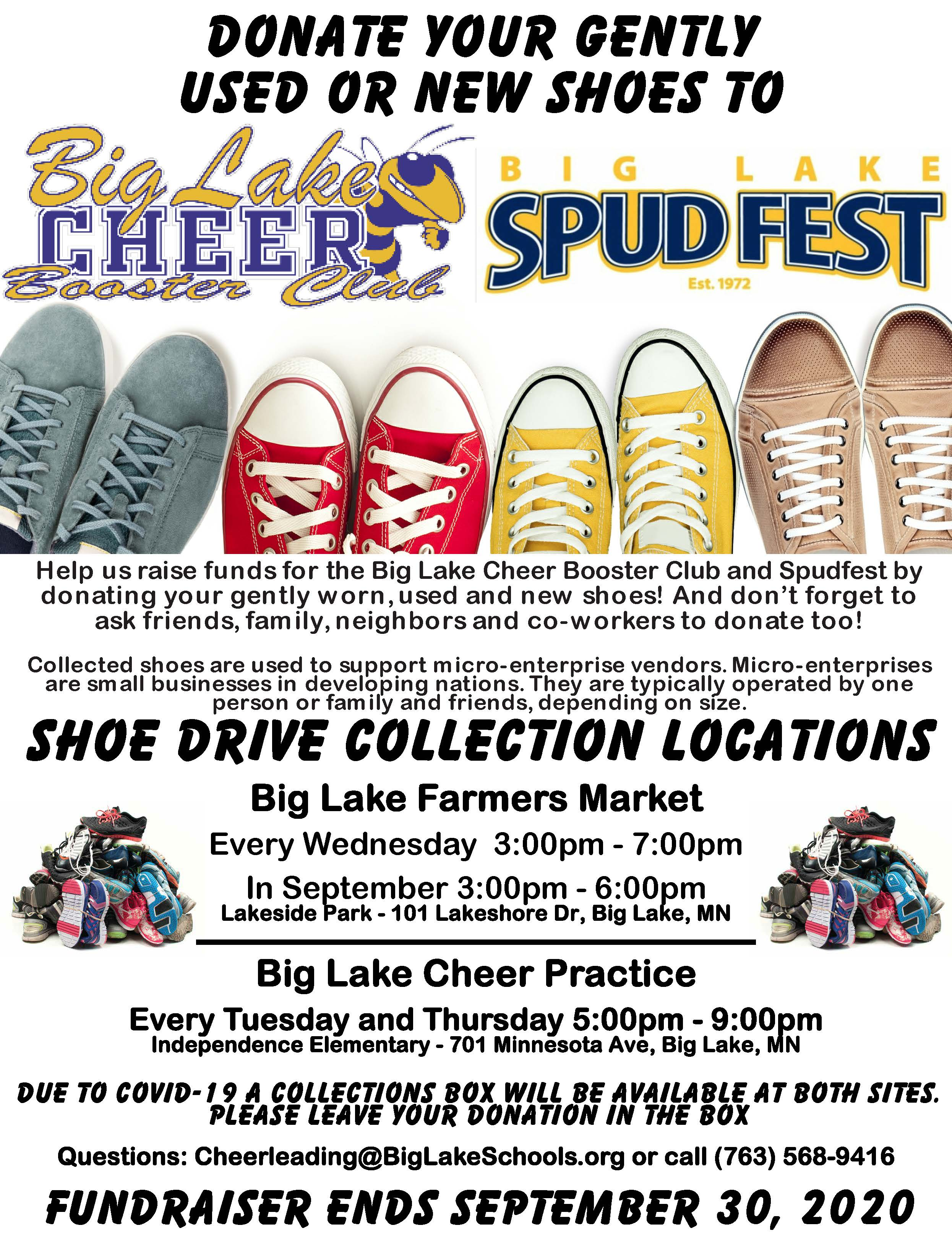 Shoe Drive Fundraiser Flyer - Cheerleading and Spud Fest.pdf