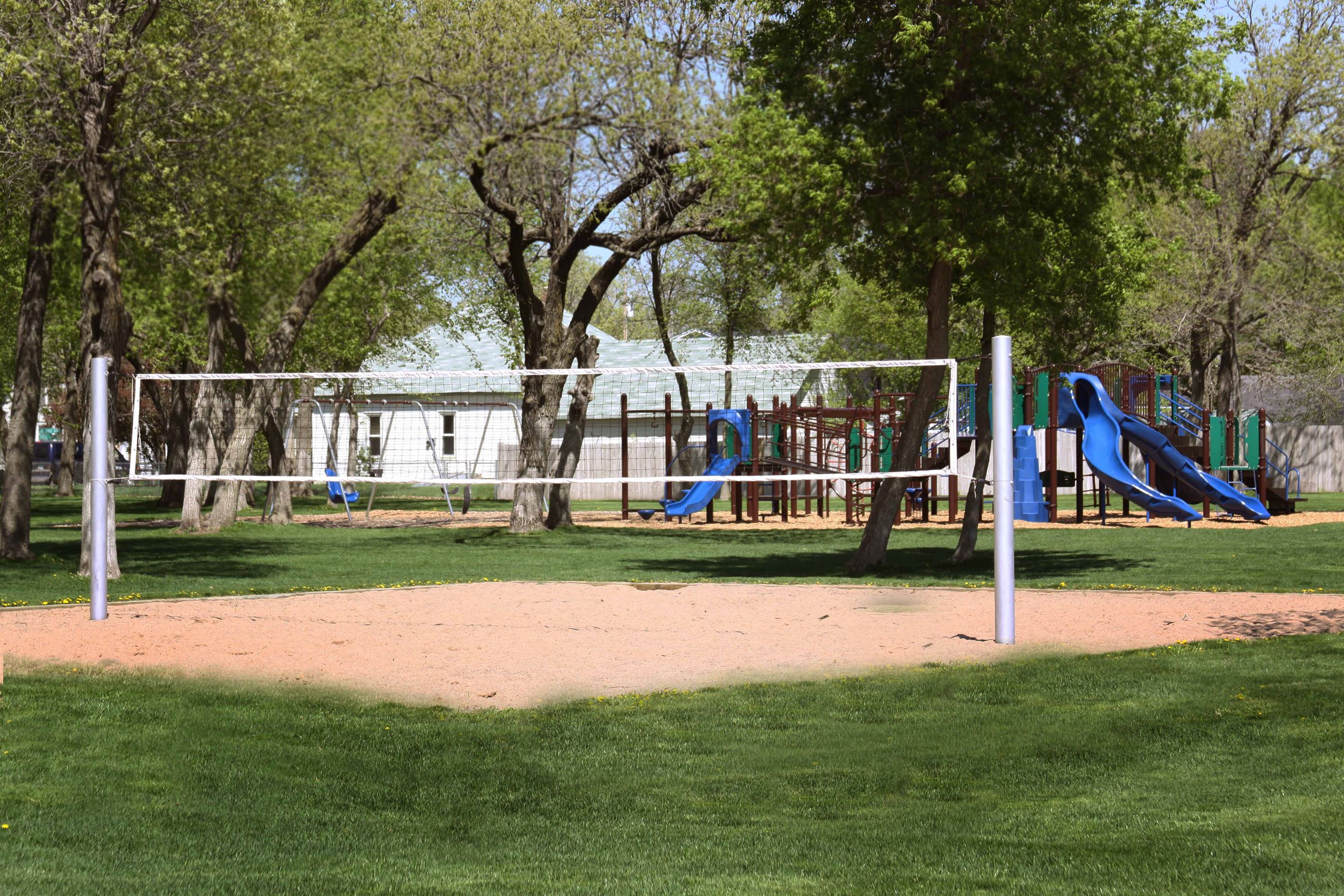 Wrights Crossing Park Playground Volleyball Court 2