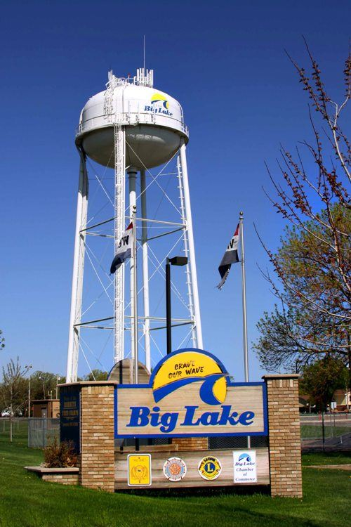 Big Lake Water Tower